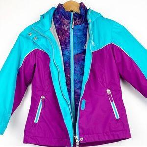GERRY WENER 2-in-1 puffer & winter coat XS 5/6